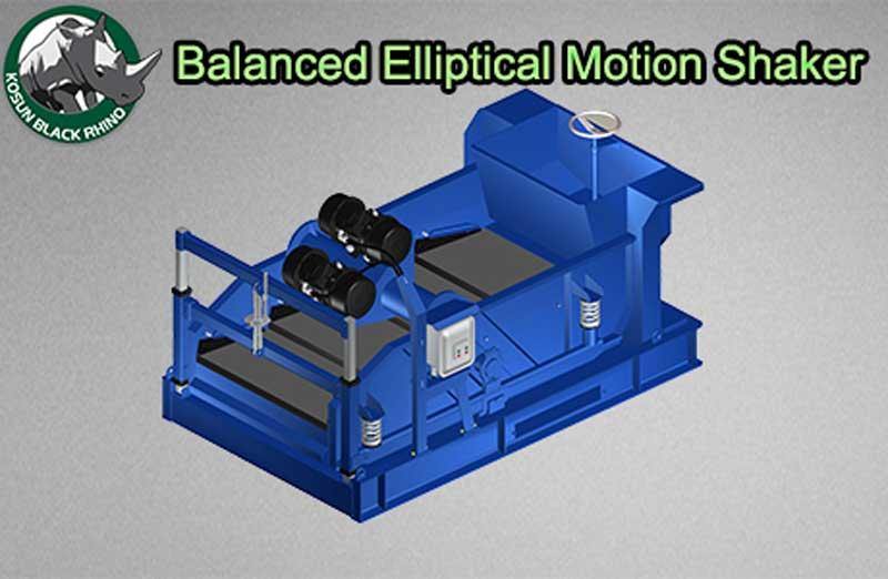 Balanced Elliptical Motion Shaker